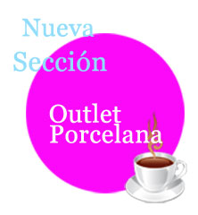 outlet porcelana