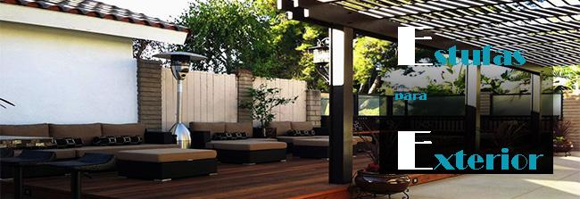 Estufas de exterior para terrazas env o r pido for Estufas para terrazas