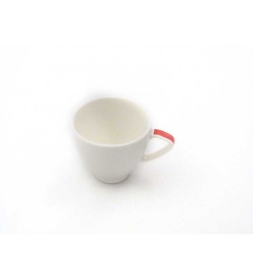 TAZA CAFE ROYAL PORCELAIN JEWELRY RED 10 CL AROMA