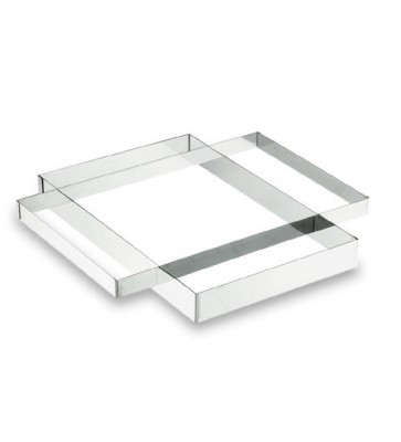 MARCO RECTANGULAR LACOR 40X60 INOX