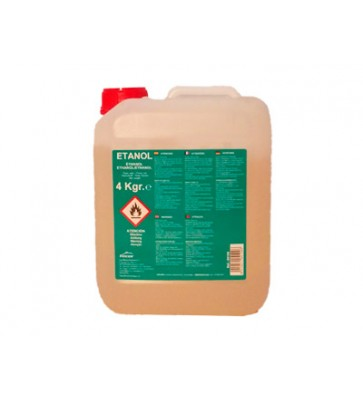 CUBO GEL LACOR 4 KG ETANOL LACOR