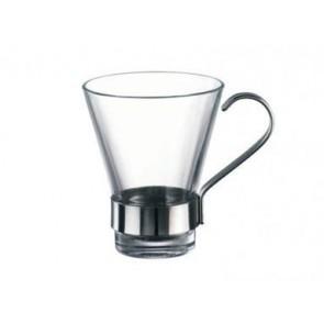 TAZA CAFE BORMIOLI ROCCO YPSILON 11 CL ASA INOX