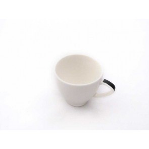 TAZA CAFE ROYAL PORCELAIN JEWELRY BLACK 10 CL AROMA