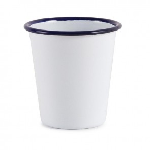 VASO OLYMPIA 310 ML BORDE AZUL
